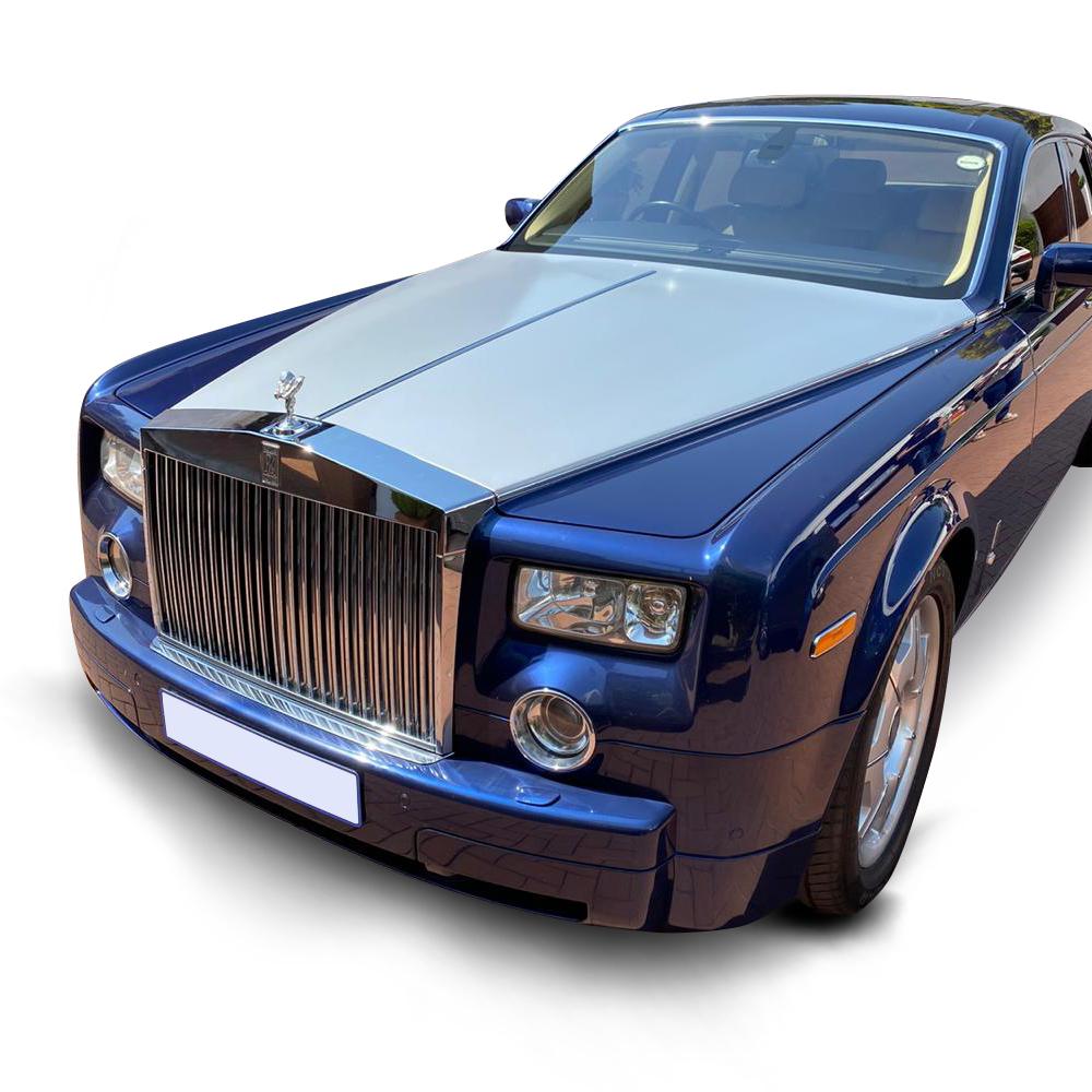 Rolls Royce Blue Phantom | Limo Hire | Gauteng