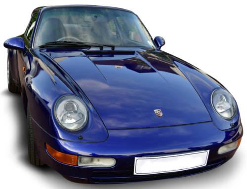 Porsche Carrera Blu
