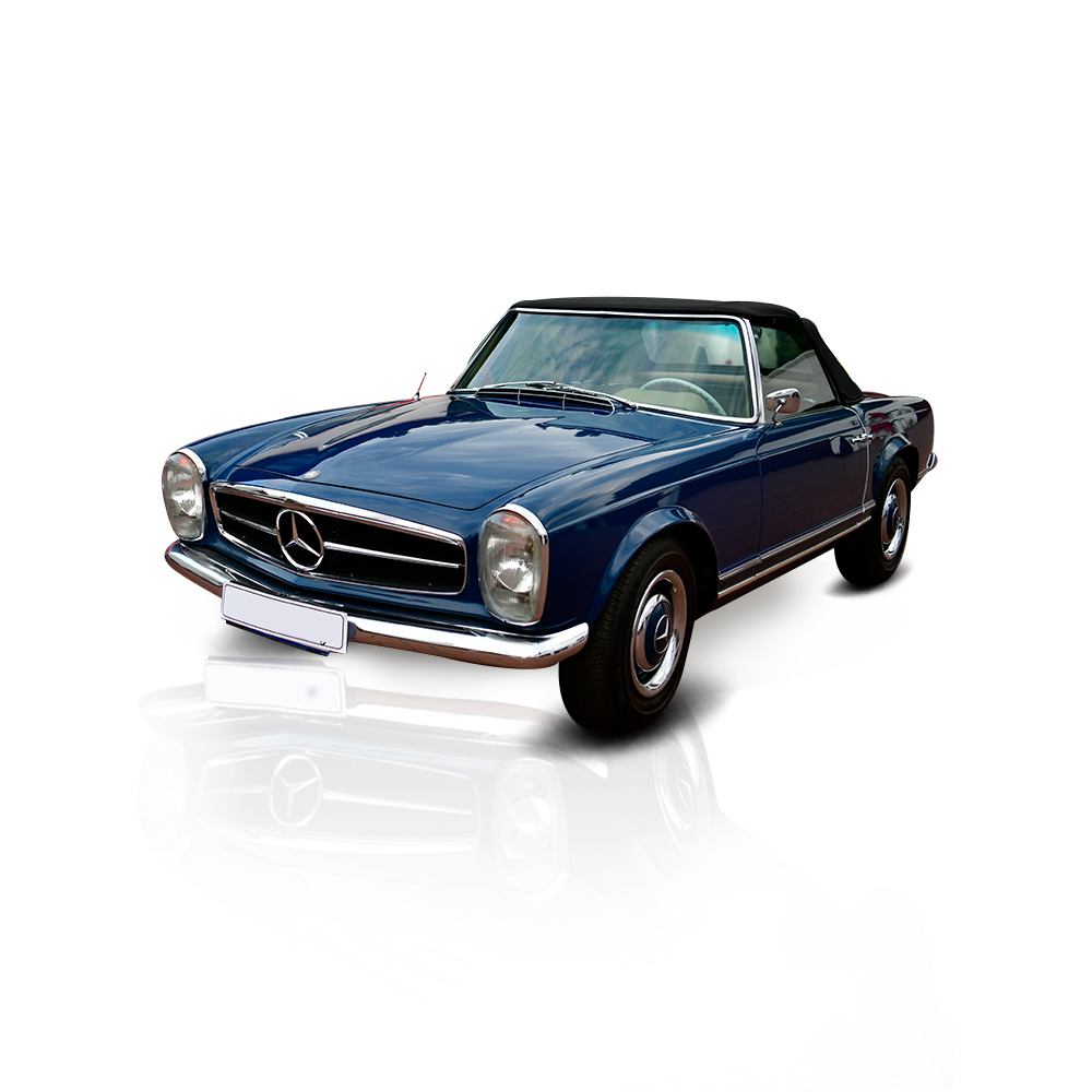 Classic Mercedes Pagoda Convertible | Vintage Car Hire | Guateng