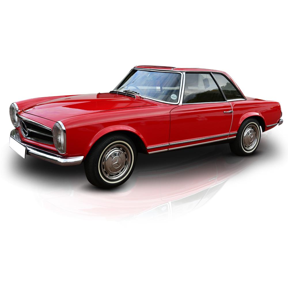 Classic Mercedes Pagoda | Vintage Car Hire Gauteng