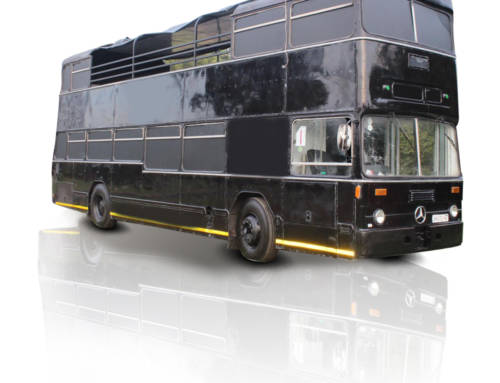 Open Top 60 Seater Party Bus
