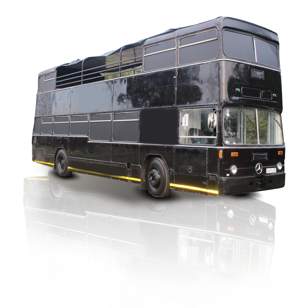 Open Top 60 Seater Party bus | Party Bus Hire | Gauteng