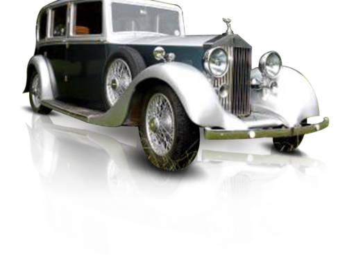 Vintage 1936 Barker Rolls Royce Limo
