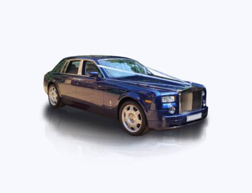 Rolls Royce Phantom Blue