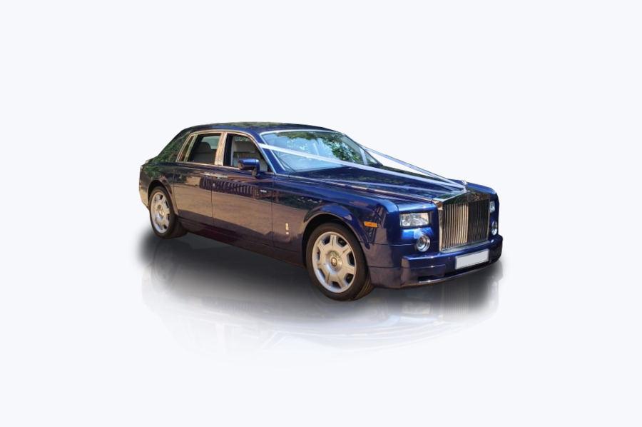 Blue Rolls Royce Phantom | Execuride