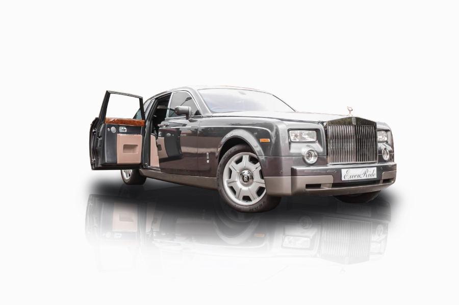 Grey Rolls Royce Phantom | Execuride