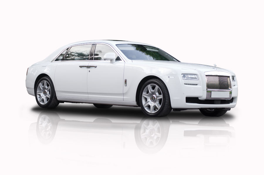 White Rolls Royce Ghost | Execuride