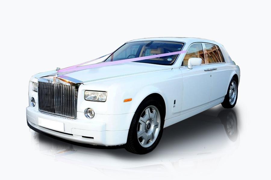 White Rolls Royce Phantom | Execuride